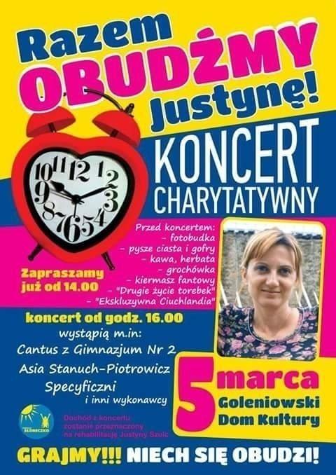 Razem obudźmy Justynę! – akcja charytatywna