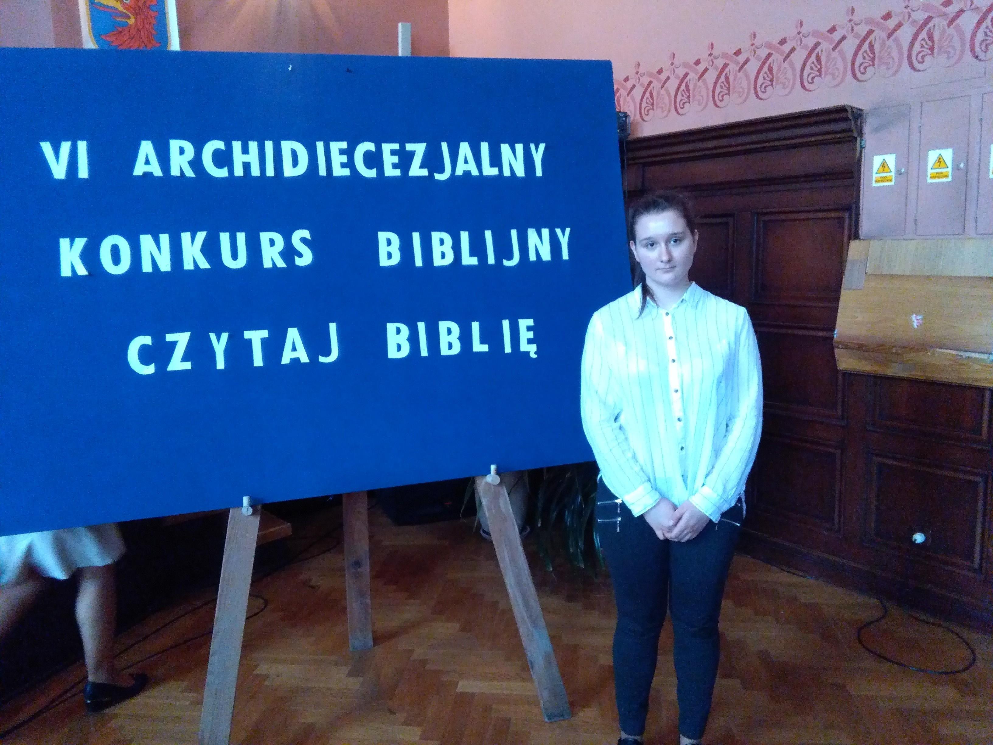 """VI Archidiecezjalny Konkurs Biblijny """"Czytaj Biblię"""""""