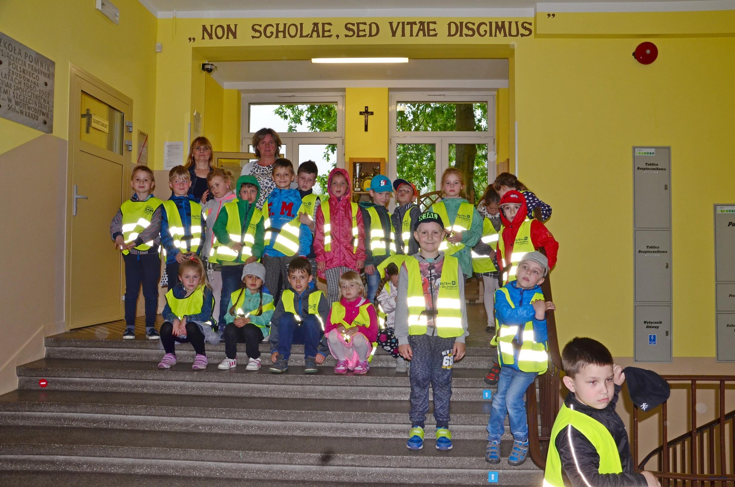 Przedszkolaki z Przedszkola nr 2 z wizytą w naszej szkole – fotorelacja