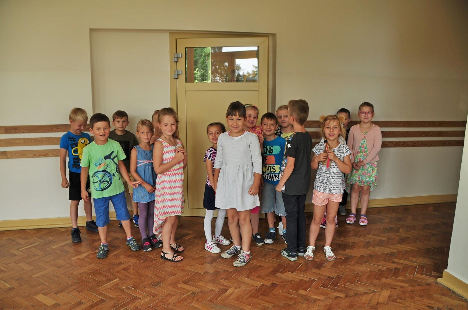 Zajęcia adaptacyjne dla pierwszaków nowej szkoły