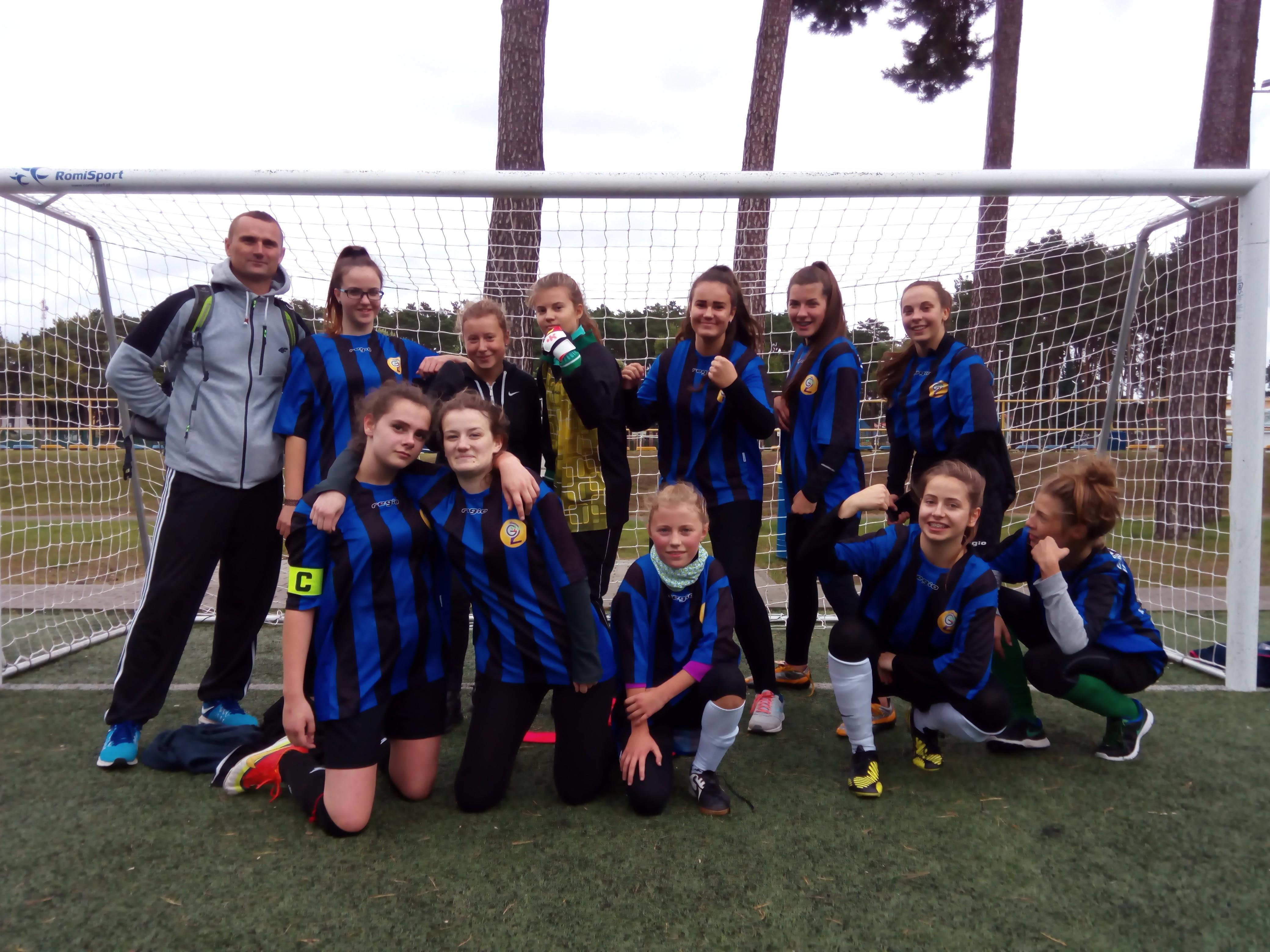Złote Mistrzostwa Gminy w Piłce Nożnej dla SP 5 w Goleniowie