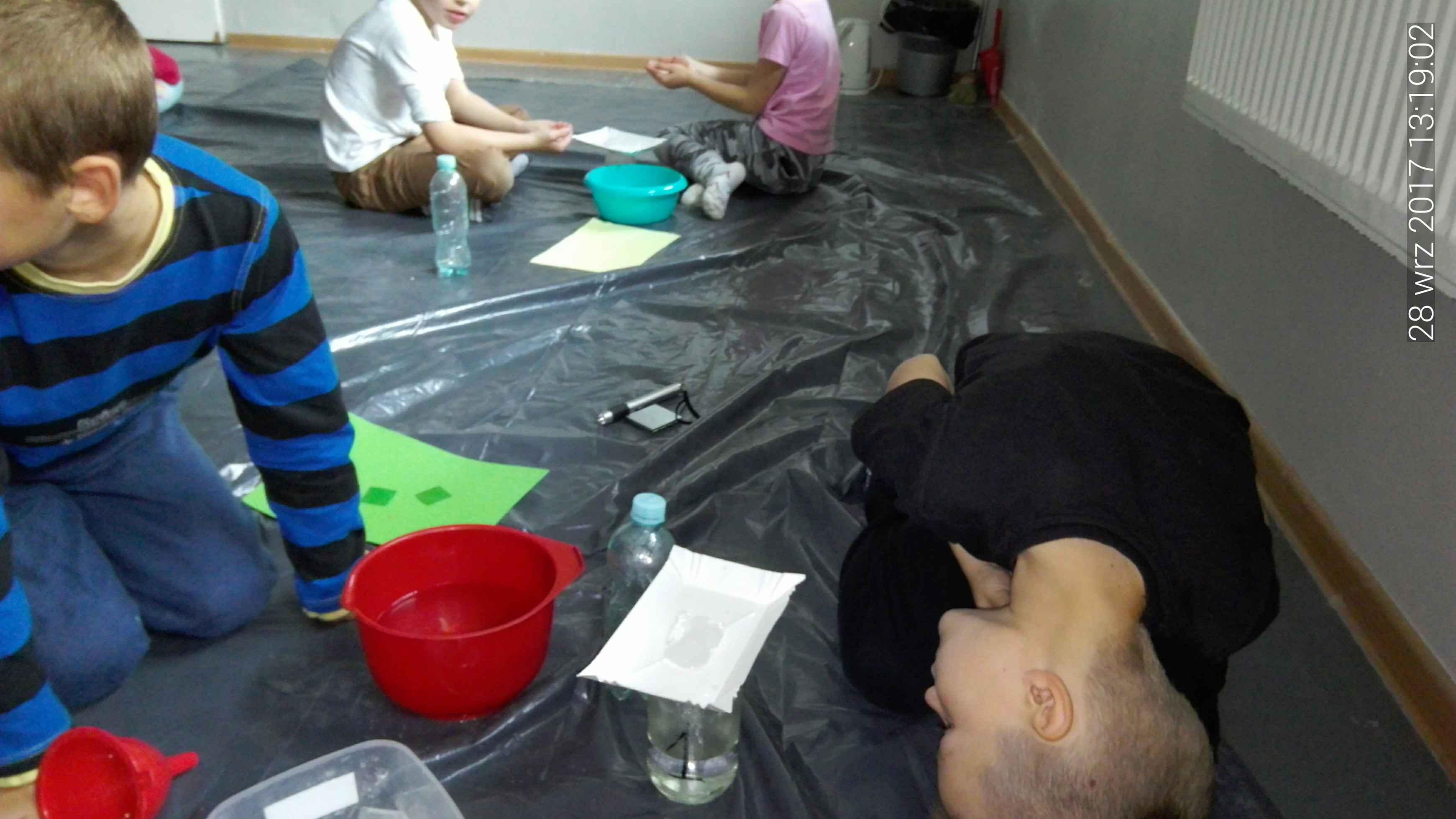 Sensoplastyka wraz z eksperymentami przyrodniczymi – woda