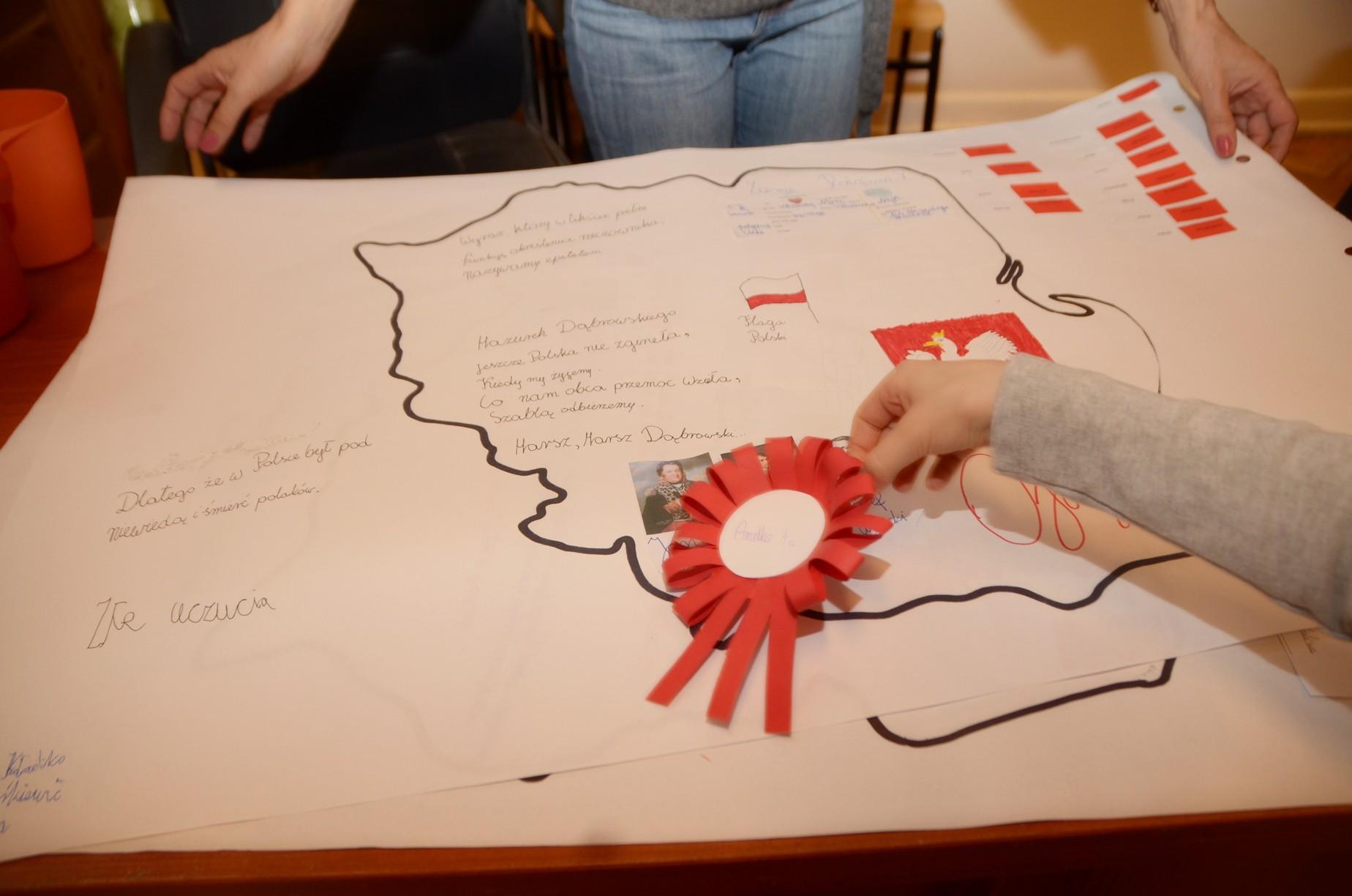 """Projektowy Piątek – """"Polska, kraj, w którym mieszkam"""""""