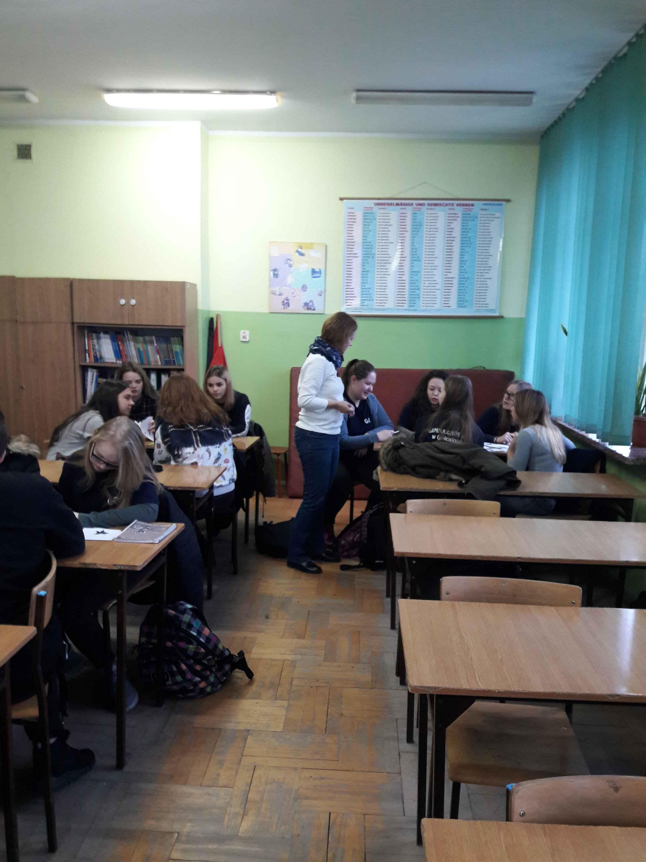 Ciekawe lekcje w Zespole Szkół nr 1 w Goleniowie