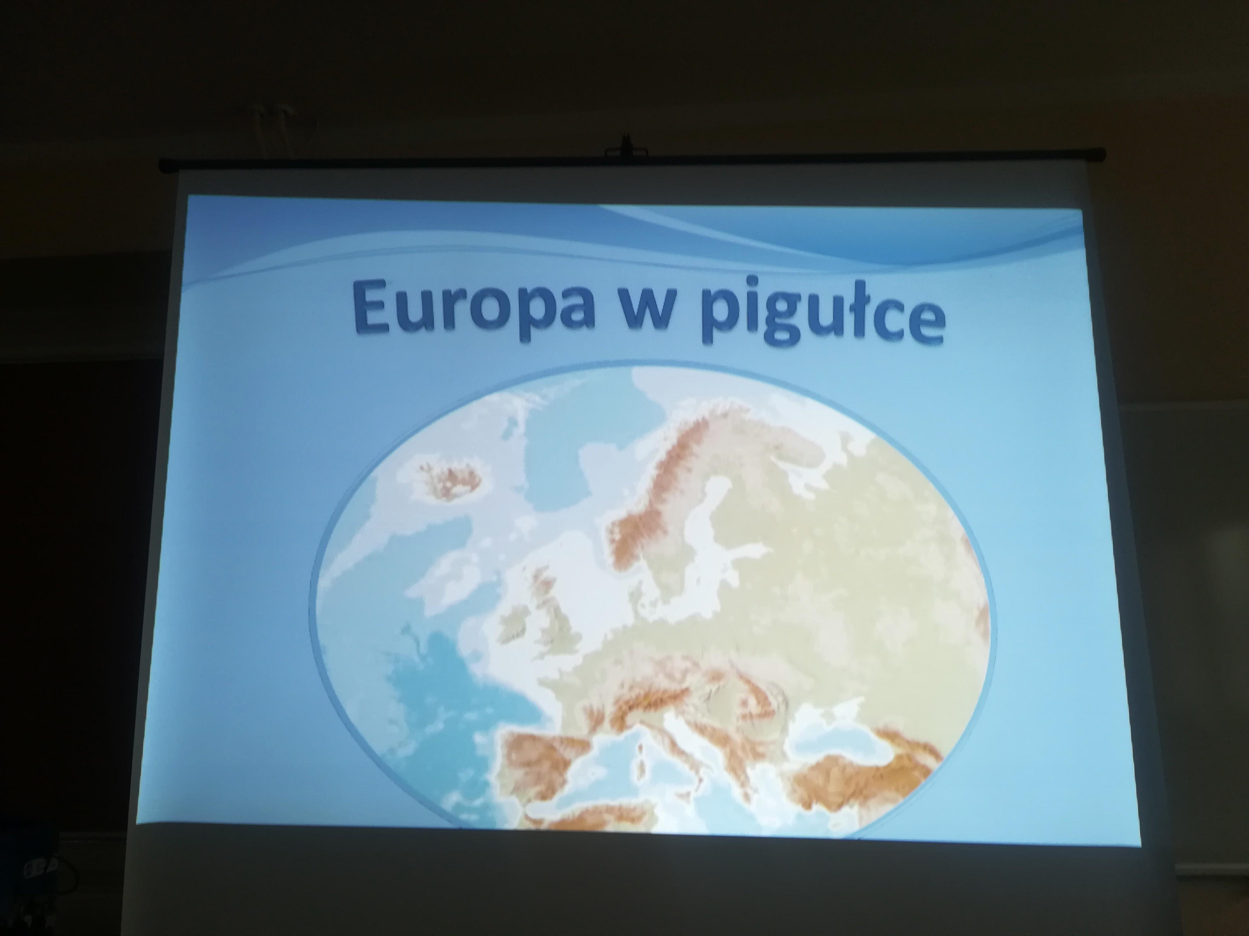 """""""Europa w pigułce"""" wykład na Collegium Balticum"""