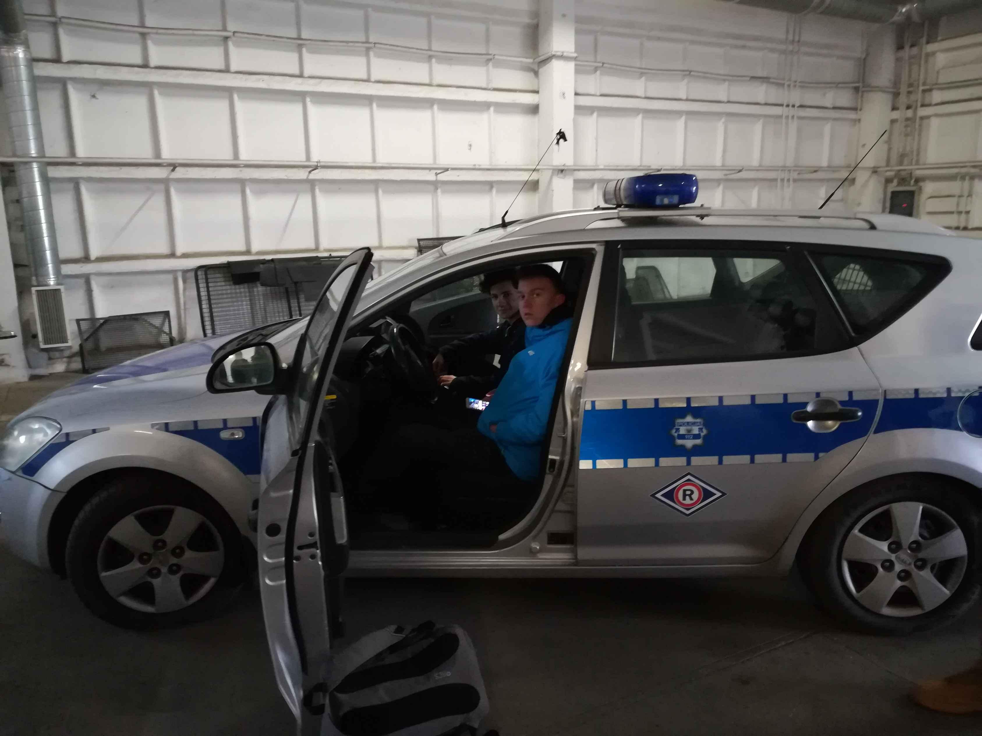 Wycieczka zawodoznawcza na Komendę Policji w Goleniowie