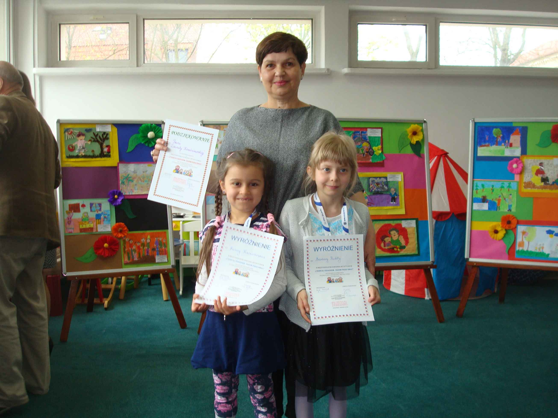 Wyróżnienia w Międzyszkolnym Konkursie Artystycznym
