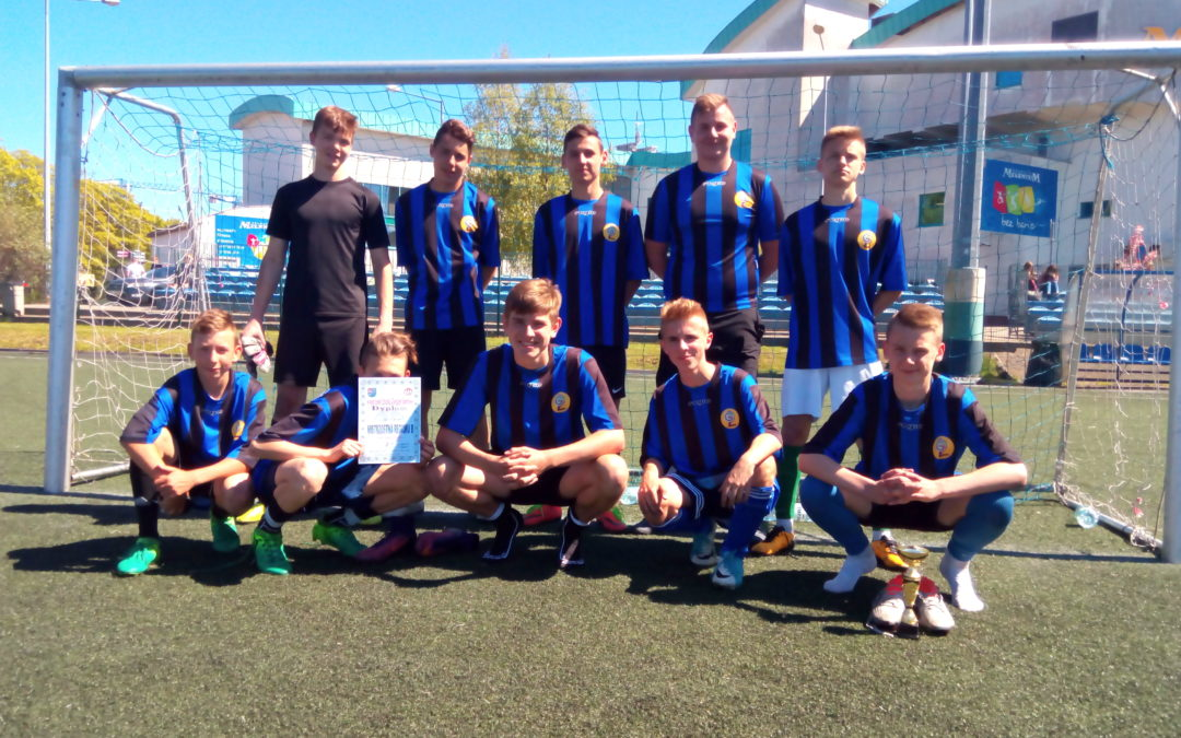 Mistrzostwa Regionu B w piłce nożnej chłopców.