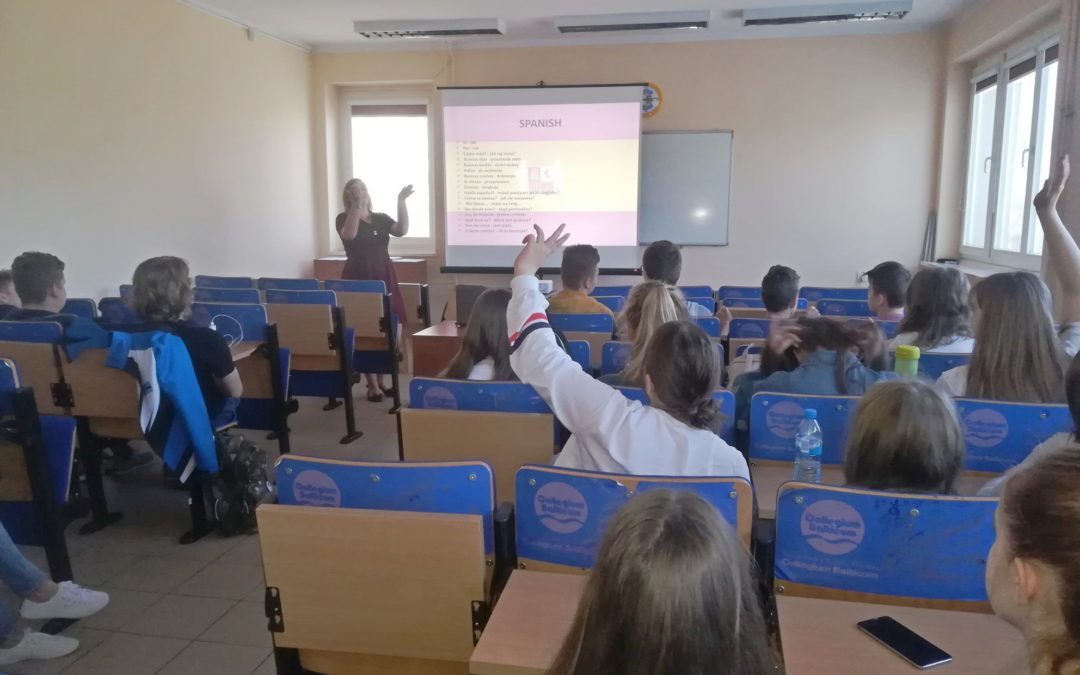 Warsztaty językowe w Collegium Balticum