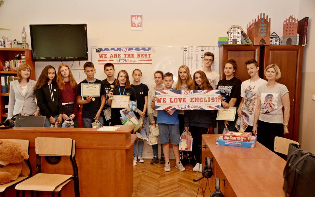 Międzynarodowy Konkurs Języka Angielskiego The Big Challenge