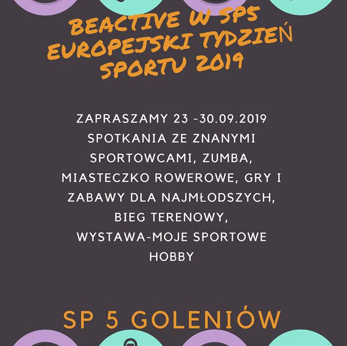 Europejski Tydzień Sportu w SP 5