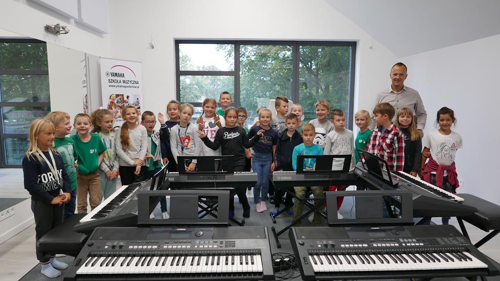 Zajęcia muzyczne w Szkole Yamaha
