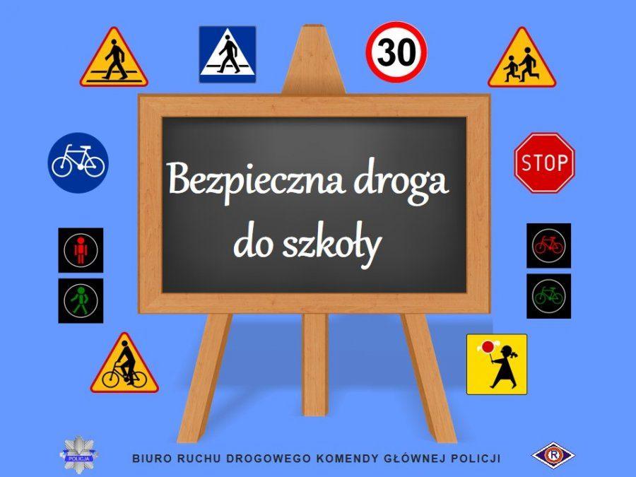 """Akcja """"Bezpieczna droga do szkoły"""""""