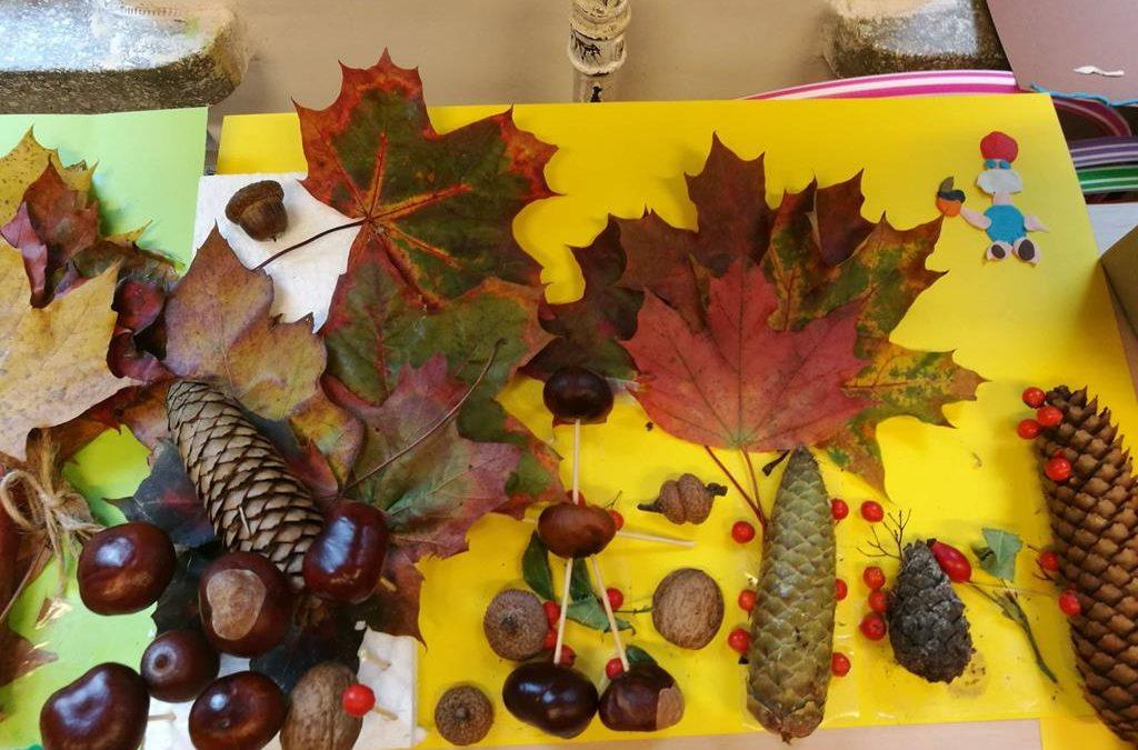 Jesień w klasie II a