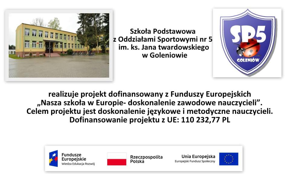 Nasza szkoła w Europie