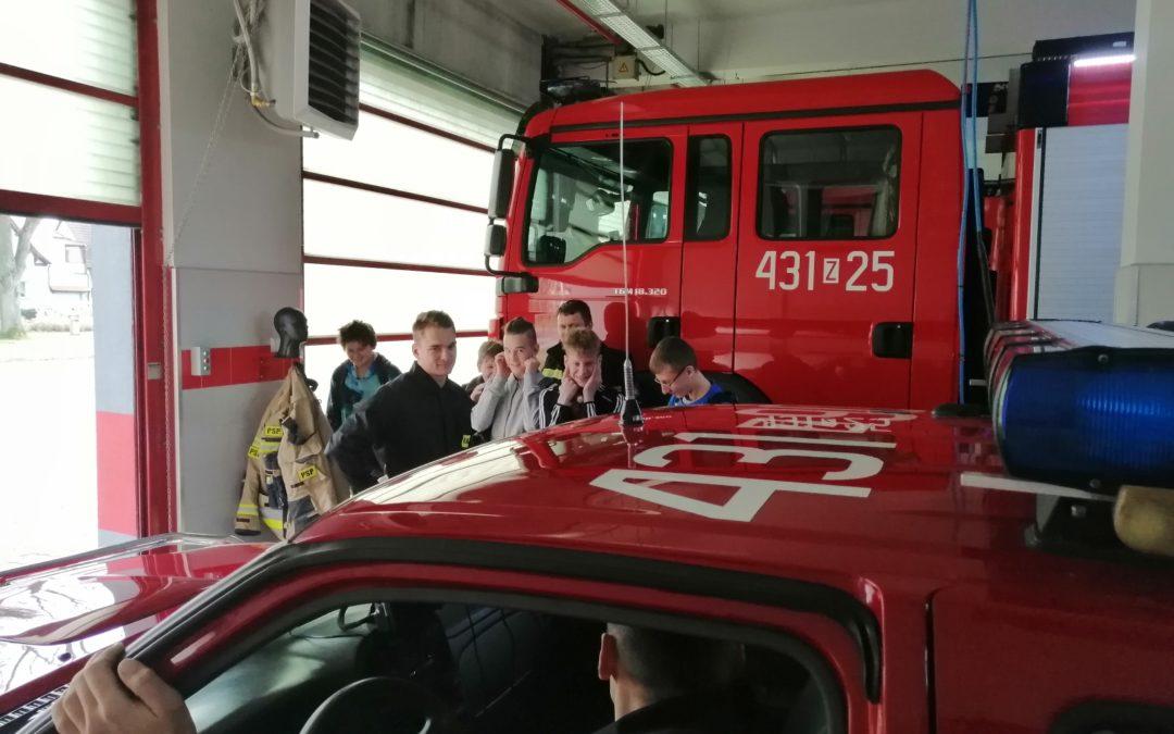 Wizyta u stażaków