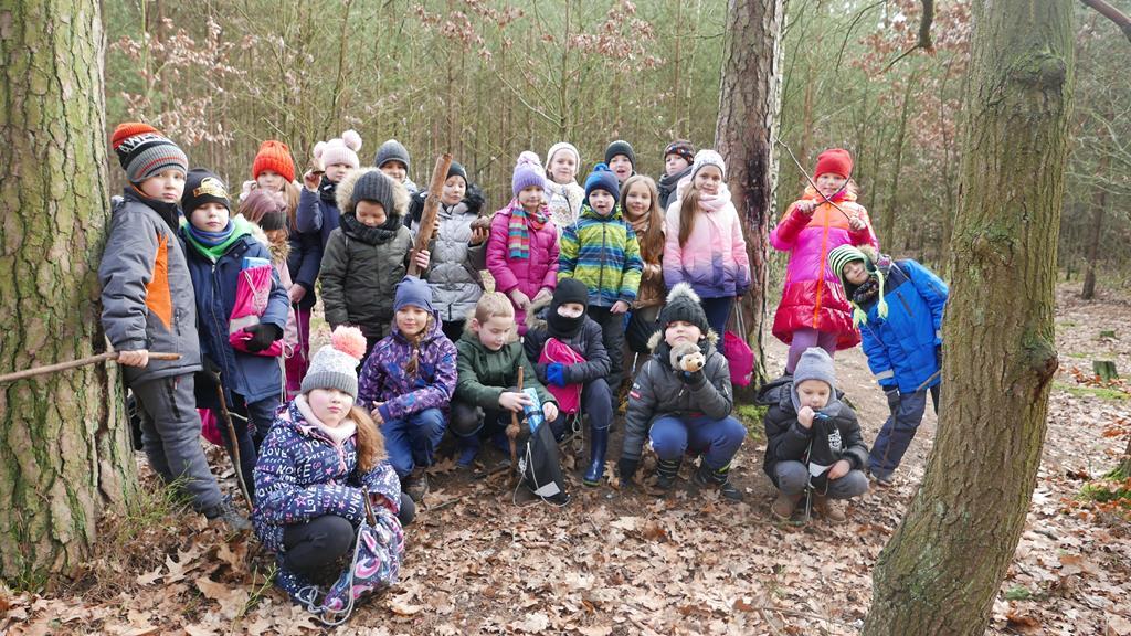 Edukacja leśna klasy 2 c