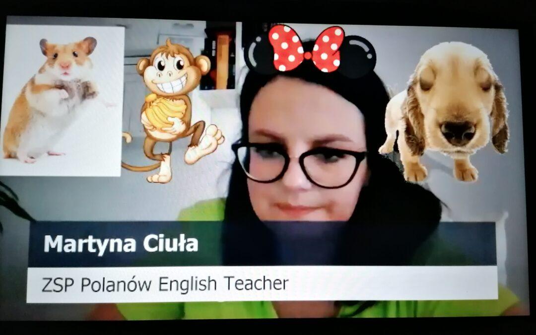 Angielski online z panią Martyną
