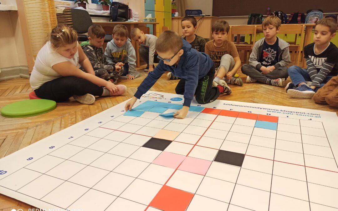 Świąteczne kodowanie przedszkolaków